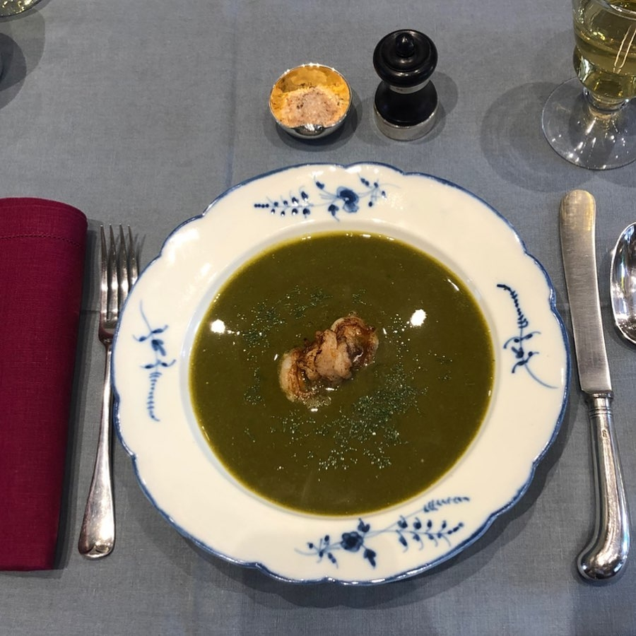 Sup me spinaq dhe qumësht
