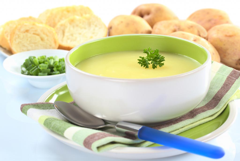 Supë patatesh